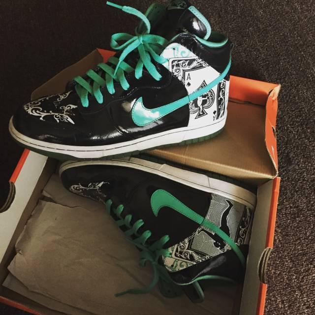 buy online a773c e4cea Dontrell Willis Nike Dunk High