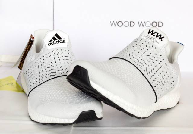 release date: 63bc8 5779f Adidas X Wood Wood Ultra Boost White