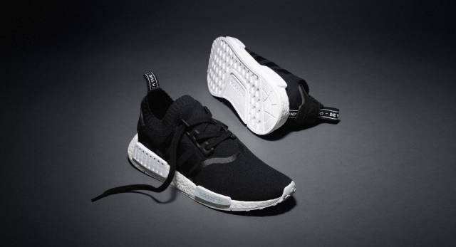 Adidas All White NMD R1 Boost Monochrome White S79166