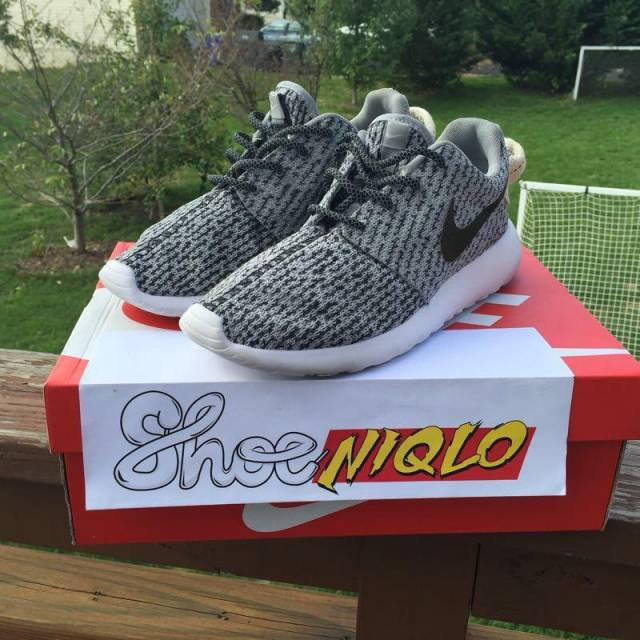 8f6d1c044d1 Custom Nike Roshe One (Turle Dove yeezy boost 350) edition
