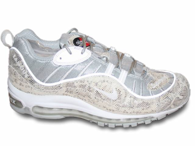 huge selection of c5c71 0c252 2016 Supreme X Nike Air Max 98 'snakeskin' 844694-100