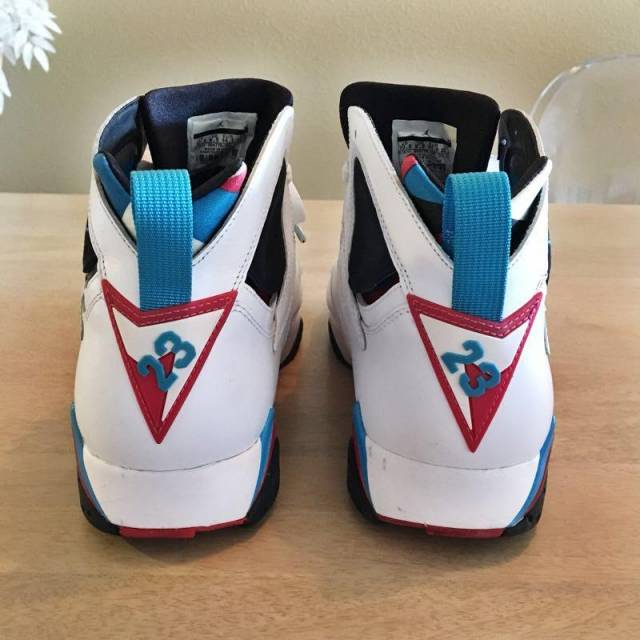 best cheap 4d217 acc50 ... italy nike air jordan vii 7 retro white orion blue black infrared 16d43  c2a45
