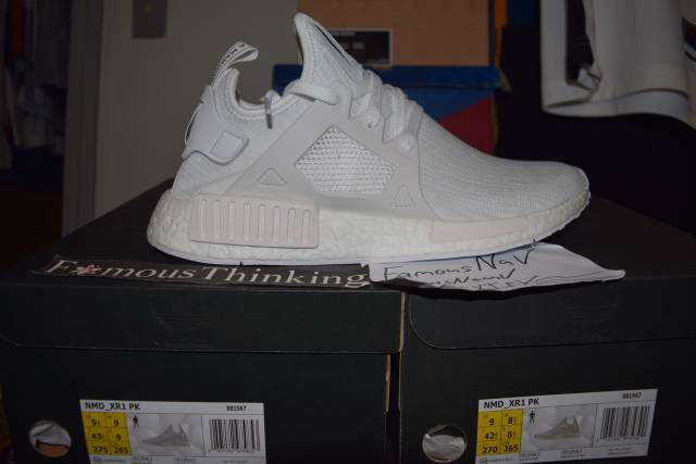 58324afa6 adidas Originals NMD Xr1 Primeknit Boost Trainers Green S32217 9.5