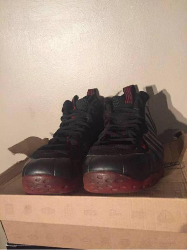 2fed09288f4 Nike foamposite cough drop size 10 pre owned