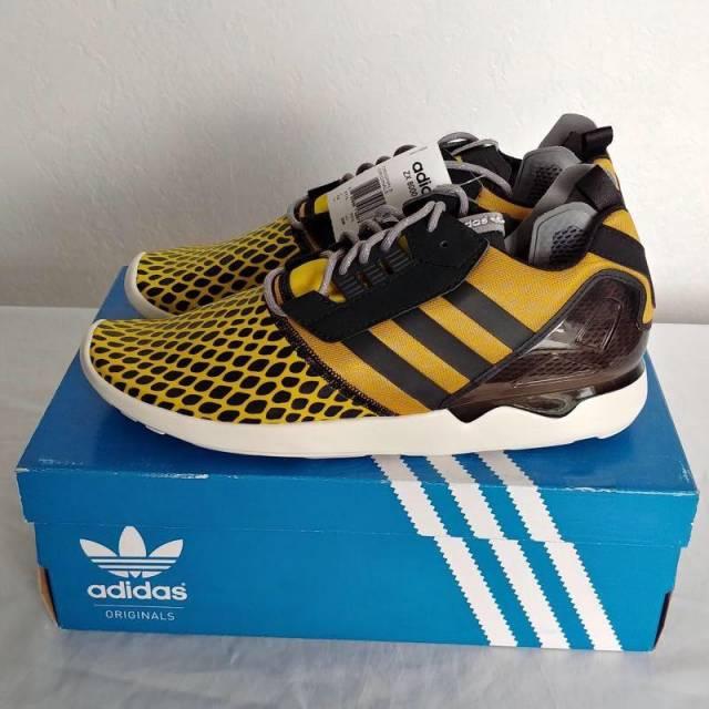 best website 3570d 899d7 Adidas - ZX 8000 Boost - Yellow   Black - Sz 12 - BRAND NEW!!
