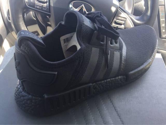 54db23ad6fd59 Adidas NMD Triple Black Men sz 10.5