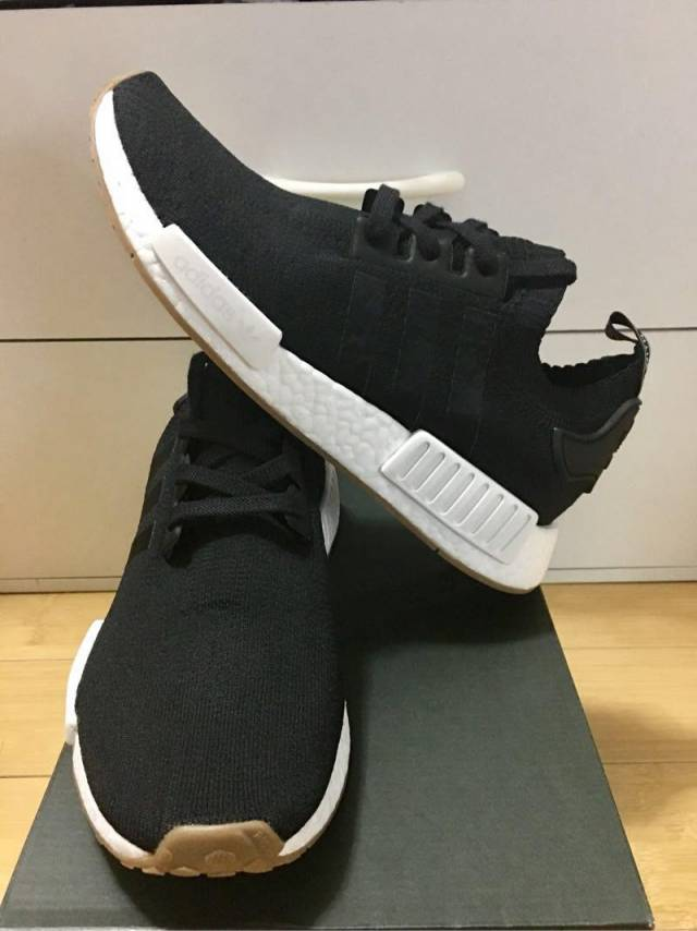 Adidas Nmd R 1 Primeknit Black Gum Pack Core Black Men 7 9us