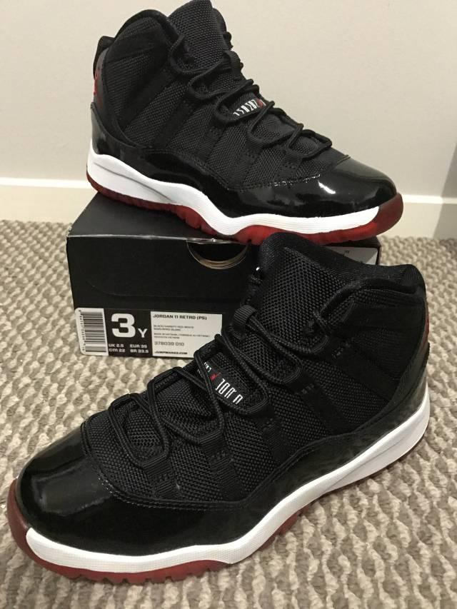 new arrival 57373 3f612 Brand New Air Jordan Retro Xi High Bred Youth 1y 2y 3y Ltd