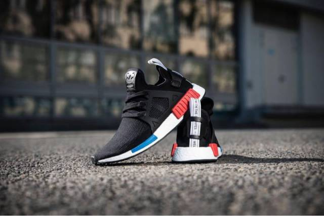 ADIDAS NMD XR1 BLACK GREY WHITE BY3045 SZ 7.5 boost