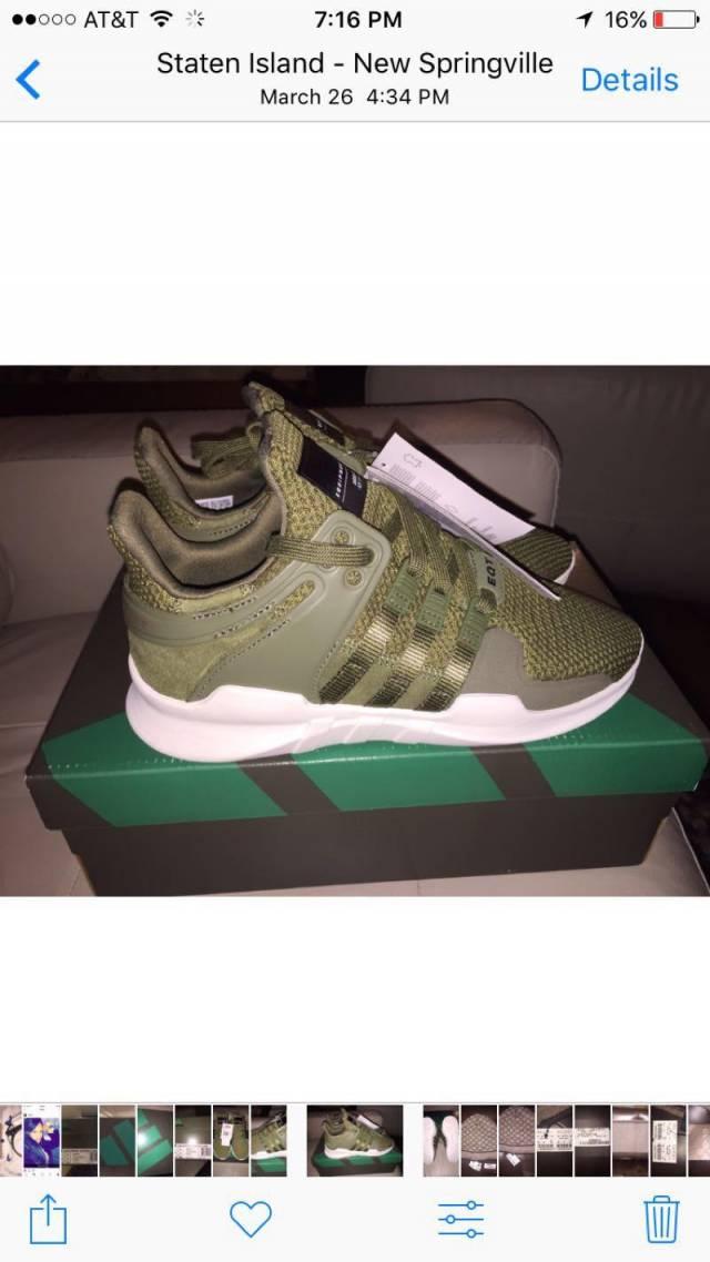 Adidas eqt support adv olive  310f97bb0