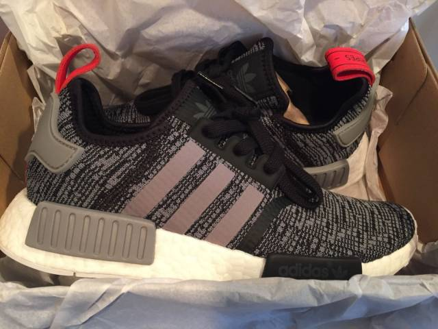 cheap for discount c3bb0 def90 Adidas NMD Glitch Camo R1 Red grey Black BB2884