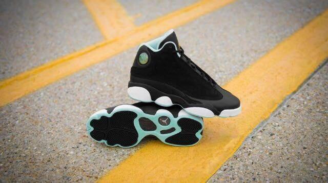 Air Jordan 13 Retro Mint Foam Black (GS