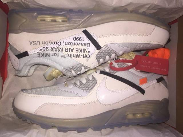 316fdeda026d9 Off-White x Nike Air Max 90