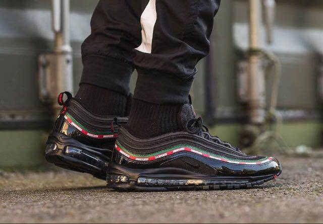 buy online 31ad1 9fe36 Undefeated x nike air max 97 black w receipt (men s) size 7-14