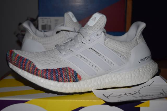 adidas ultra boost ltd multicolor white