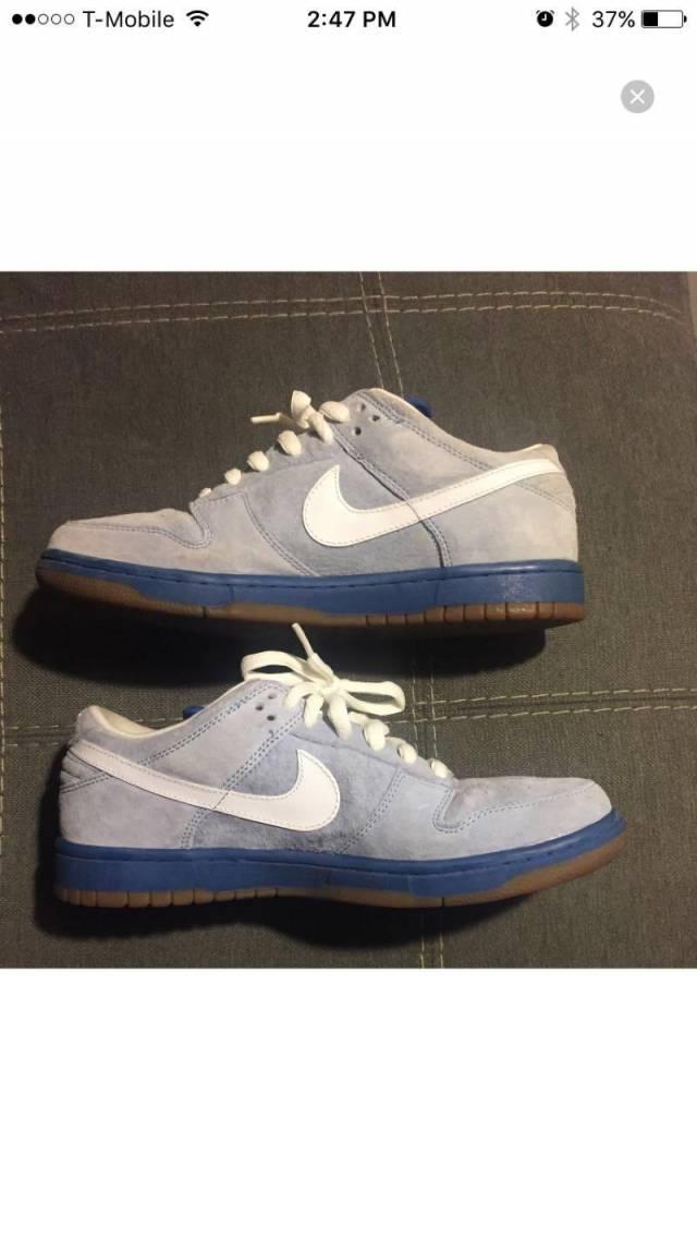 reputable site bdcbb 6d19f Nike dunk low pro SB Boarder blue