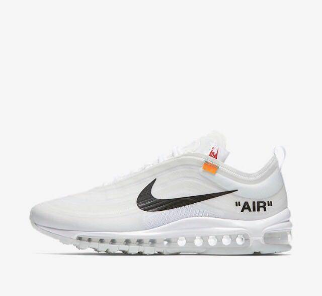 air max 97 x off white