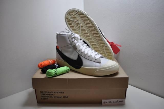 3513e4c02318 Nike Blazer X Off White The Ten Size 7.5 Us 7 Uk 40.5 Eu