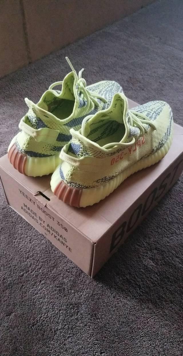 90ca6e774 adidas Yeezy Boost 350 V2 Semi Frozen Yellow