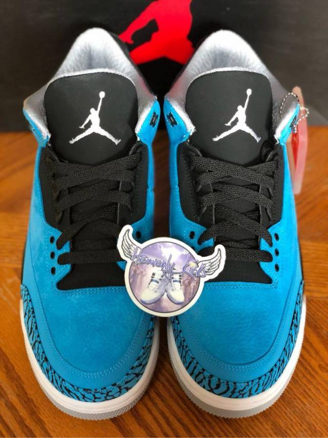official photos 8186e 8f4c6 Air Jordan Retro 3 Powder Blue Ready To Ship Size 10