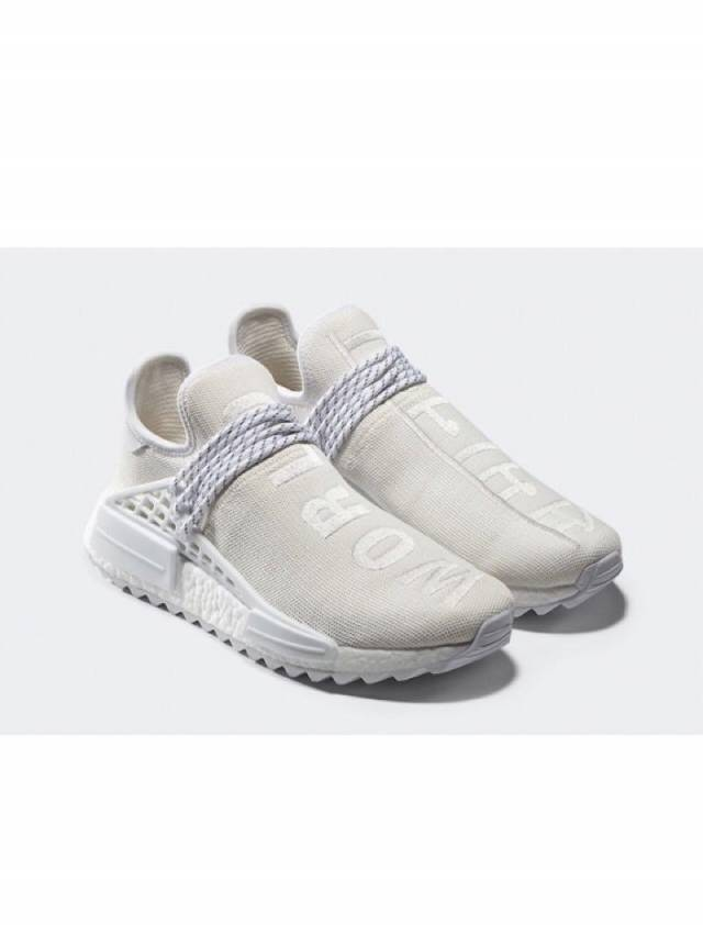 775ca2193e04b Pharrell x Adidas NMD Hu Human Race Trail Blank Canvas w Receipt (men s)  Size 5-14