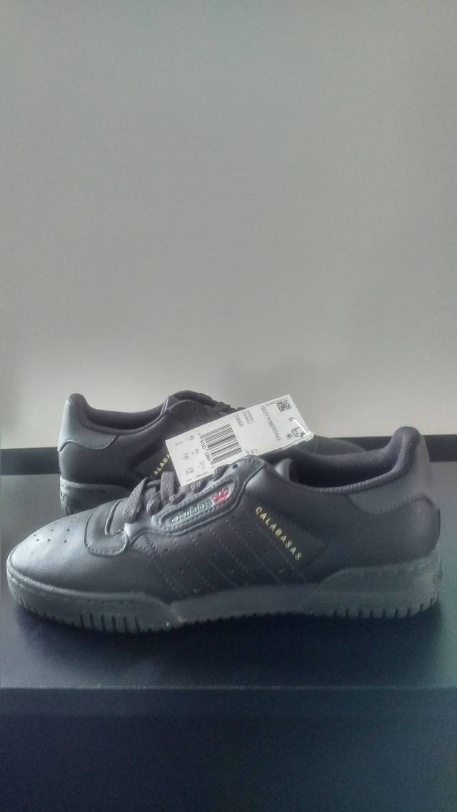 separation shoes 38793 0fc69 Adidas Yeezy Powerphase Black