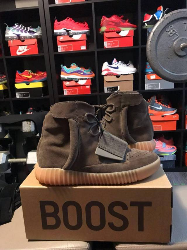 factory price b96d1 1a211 Adidas Yeezy Boost 750 - Chocolate