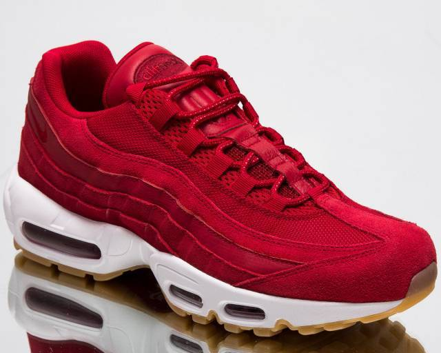air max 95s all red