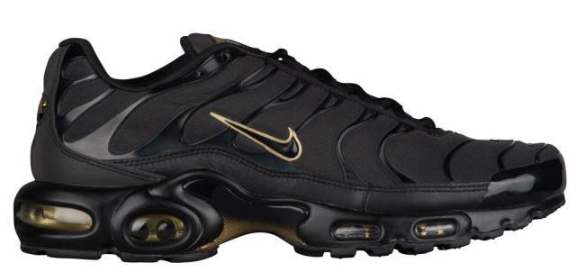 nike air max tn black and gold