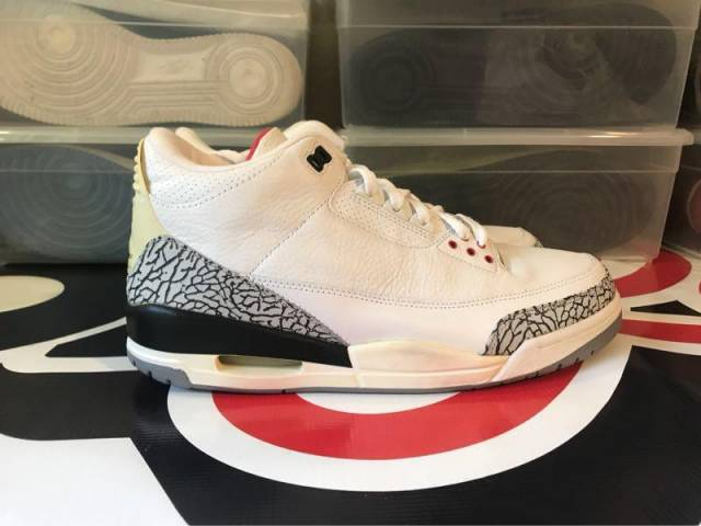 "new styles d67fc d16fb Jordan 3 Retro ""white Cement"" (2003) Size 11.5 Ds Size 11.5"