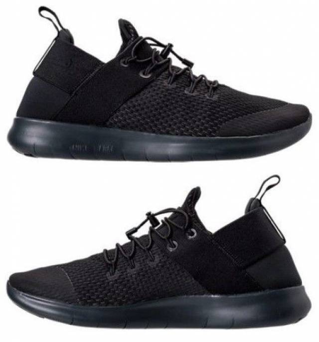 fcba503f9d7 NIKE FREE RN COMMUTER 2017 WOMEN s RUNNING AUTHENTIC BLACK - GREY -  ANTHRACITE