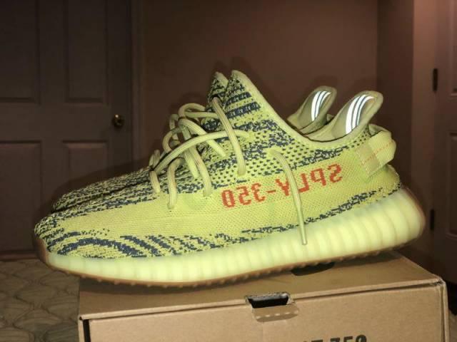 adidas Yeezy Boost 350 V2 Semi Frozen Yellow  77f787122