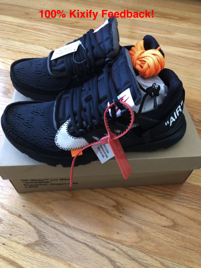 online store 2df15 8e556 OFF-WHITE x Nike Air Presto Black  Kixify Marketplace