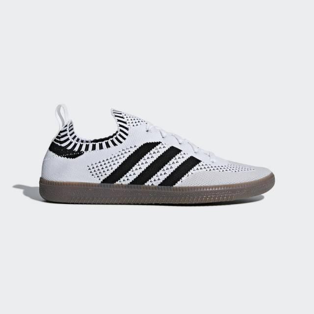 Hombre adidas Originals Samba primeknit calcetín blanco zapatos zapatillas