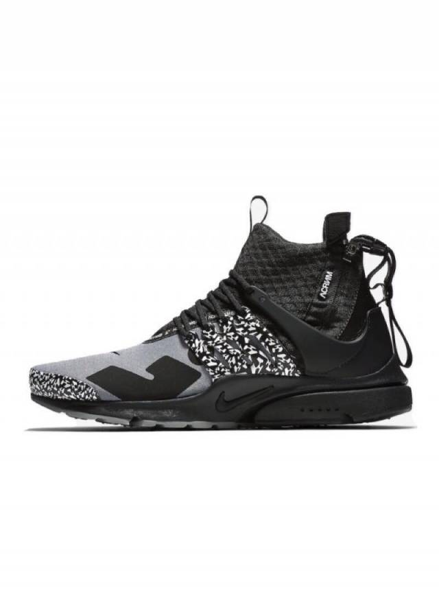 new styles aa432 39cff Acronym x Nike Air Presto Mid Cool Grey wReceipt (mens) Size 4-15