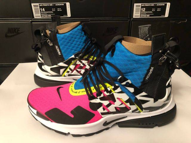 Acronym X Nike Air Presto Mid Cotton Candy