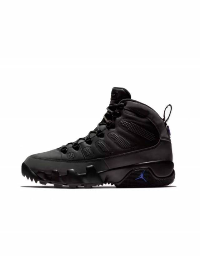 new products dd99e 8132a Air Jordan 9 Boot Black Concord