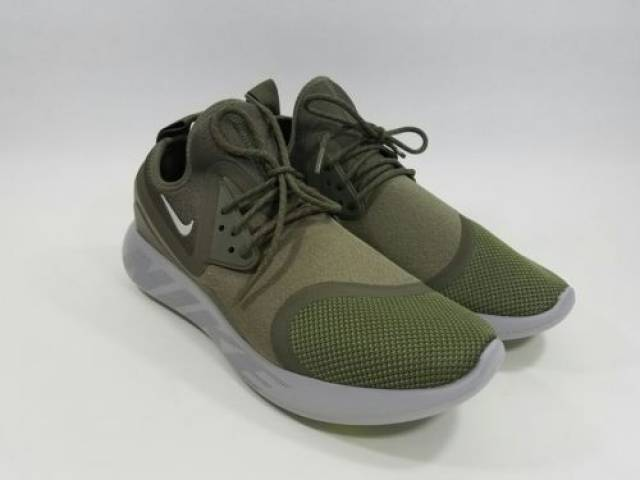 c4e9ce6b03 Men's Nike LunarCharge Essential Olive Running Shoes 923619-200 Size ...