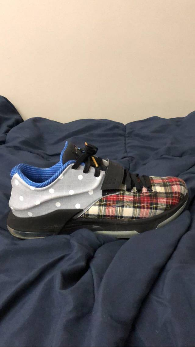 Nike KD 7 EXT QS - Plaid Polka Dots  d8040ed772