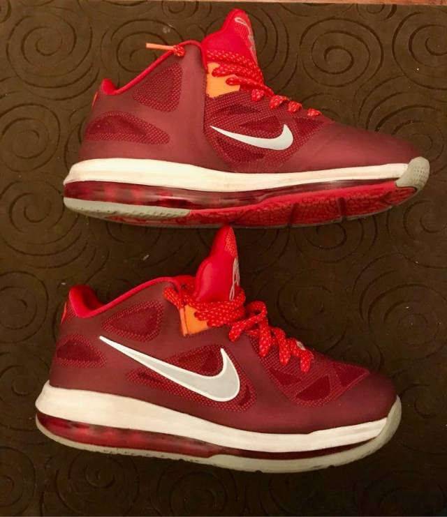 """Nike LeBron 9 Low """"Team Red/Challenge"""