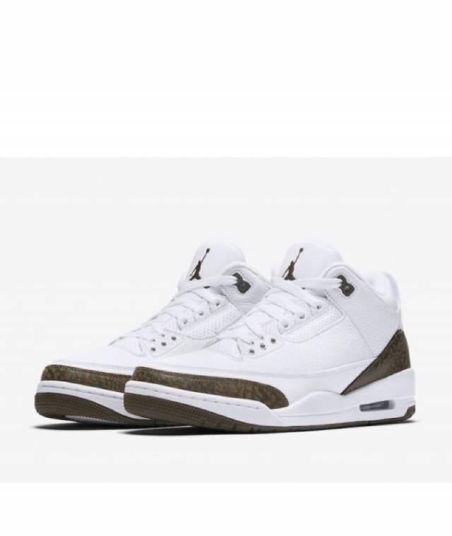 Air Jordan 3 Retro Mocha 2018 White