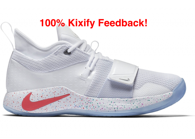 best service ffd32 14fa3 Playstation X Nike Pg 2.5 White