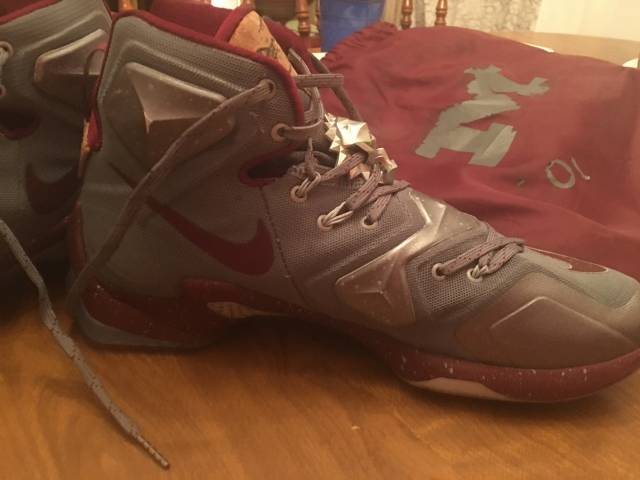 save off 1f9f4 e4f66 Nike Lebron Xii 12 Lmtd Opening Night- Cork And Wine