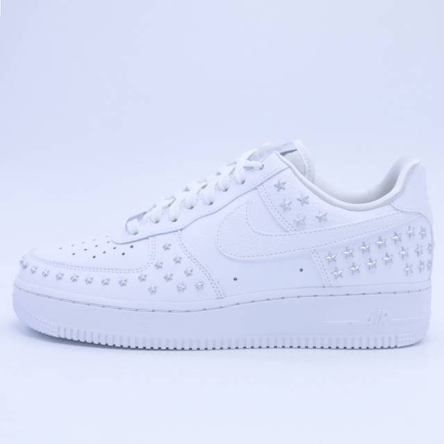 info for 88a52 c3770 Nike Air Force 1 07 XX Star Pack White AR0639-100 Women