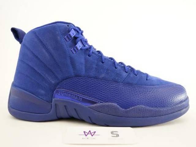 brand new eab0e 72358 Air Jordan 12 Deep Royal Blue