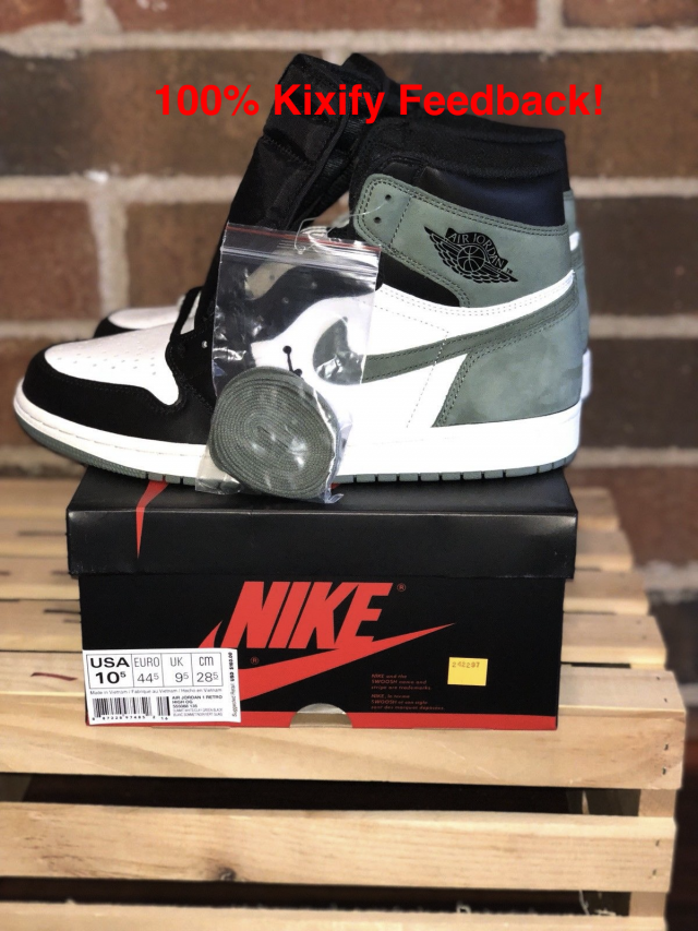 outlet store c2bb7 2fa92 Air Jordan 1 Retro High Og Clay Green