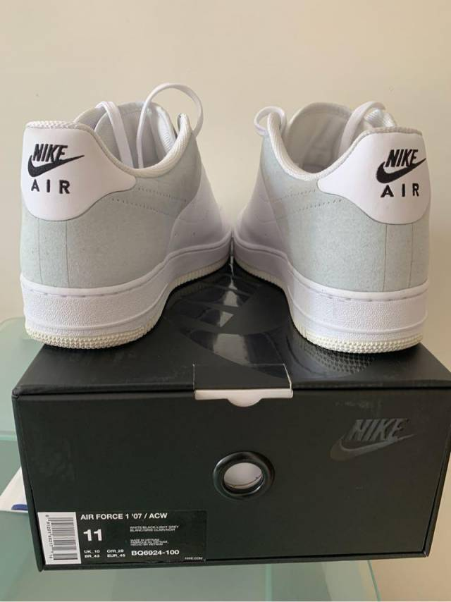 official photos c945a e720a A-cold-wall* X Nike Air Force 1 Low White