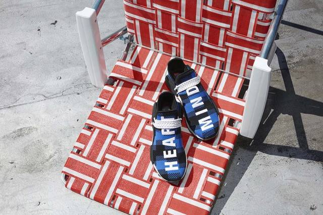 BBC x adidas NMD Hu Digijack Blue Plaid