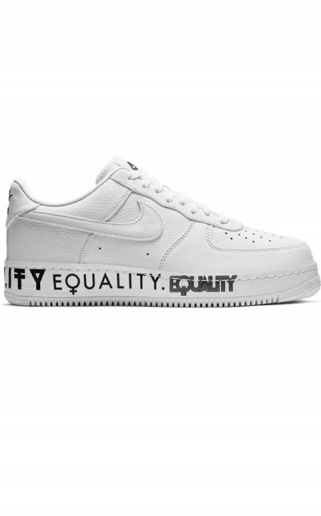 19afd96d3cb95 Nike Air Force 1 Low Equality White (men's) AQ2118-100 | Kixify ...