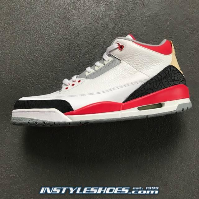 reputable site cdfac 8b324 Air Jordan 3 Fire Red (2007)